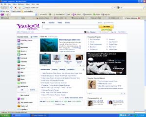 Hompage Yahoo